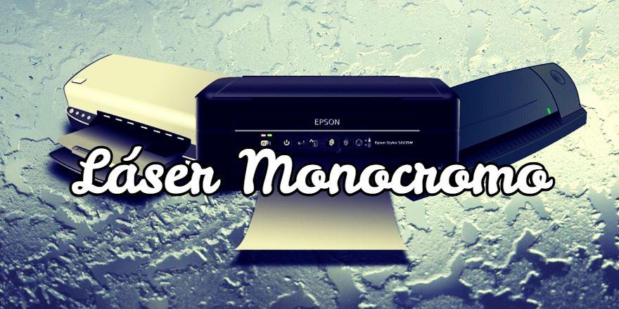 mejor impresora láser monocromo